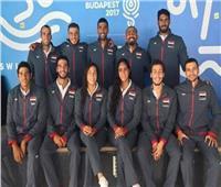 مصر تتوج بفضية «٤*١٠٠» للتتابع المختلط بسباحة الألعاب الإفريقية