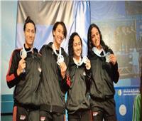 مصر تحصد الفضية في منافسات  الألعاب الإفريقية لسيدات السباحة