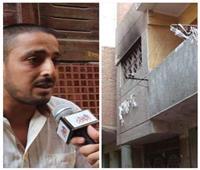 فيديو| جيران «نصر» المتهم بذبح ابنتيه: كان بيخاف عليهم من «الهوا الطاير»