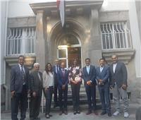 وزيرة الهجرة تلتقي الجالية المصرية في ألمانيا