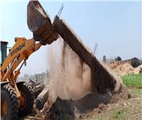 صور| حملات نظافة وإزالة إشغالات التعدي على الأراضي الزراعية بالمنوفية