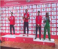 تتويج لاعبي التايكوندو بالميداليات الفضية في دورة الألعاب الإفريقية