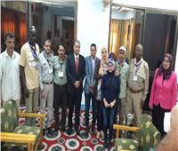 اختتام البرنامج التدريبي بالمنوفية للنازحين واللاجئين بالدول العربية