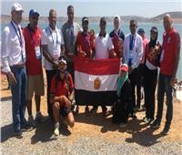منتخب التجديف يحصد 9 ميداليات بدورة الألعاب الإفريقية
