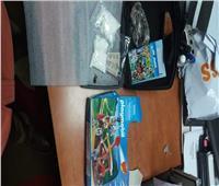 ضبط طرد يحتوي على كوكايين وطوابع مخدرة بمطار القاهرة