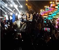 جمهور محمد رمضان «بدون ملابس» في «حفل الساحل»