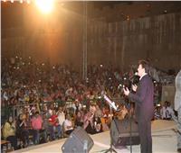 عظمة الفنون المصرية تتجسد في قلعة صلاح الدينوأمير الغناء يتجلى بالمحكى