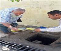 رئيس جهاز مدينة بدر: فحص عينات من مخلفات الصرف الصناعي للمصانع
