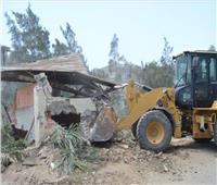 إزالة 900 حالة تعد على نهر النيل واسترداد 50 ألف متر من أراضي الدولة