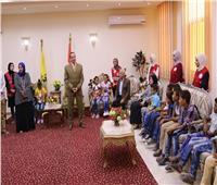 محافظ شمال سيناء يستقبل أطفال حى الكرامة
