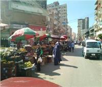 نقل «سويقة» مدينة قطور من الشارع الرئيسي إلي الموقف القديم