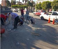إنشاء مطب صناعى بمدينة الزقازيق للحد من الحوادث