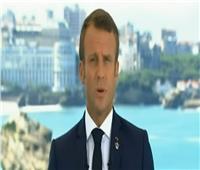 فيديو|الرئيس الفرنسي: سأعمل على إنهاء النزاعات التجارية للوصول إلى نمو أكبر