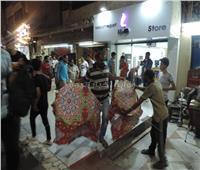 حملة ليلية مكبرة بمدينة شبين الكوم لضبط الخارجين عن القانون