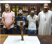 سقوط 4 أشخاص بحوزتهم تمثال أثرى بمنطقة الوايلى
