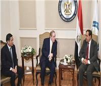 «البترول» تستقبل رئيس الغرفة العربية الأمريكية وJNG الصينية