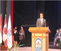 وزير التعليم العالي يشهد احتفال جامعة الأهرام الكندية بتخريج دفعة 2019