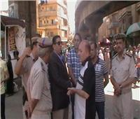 المنيا تواصل حملات إزالة الإشغالات والمخالفات على المرافق العامة