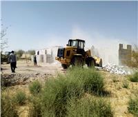 استرداد 1000 فدان من أراضي الدولة المتعدي عليها بالوادي الجديد