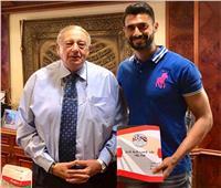 المقاصة يجدد عقد أحمد عادل عبد المنعم لموسمين