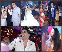 صور| حكيم وشيبة والليثي وصافينار يُشعلون زفاف «جهاد ويسرا»