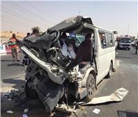 إصابة 7 في انقلاب سيارة ميكروباص بطريق إسكندرية الصحراوي