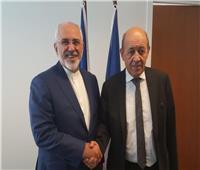 وزير خارجية إيران يجري محادثات مع نظيره الفرنسي في باريس