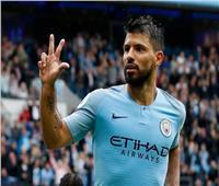 «هز شباك مباريات الدوري».. أجويرو يقود سيتي للفوز في بورنموث