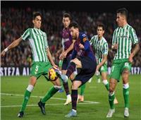 «ميسي» خارج تشكيلة الرسمية لبرشلونة في مواجهة ريال بيتيس