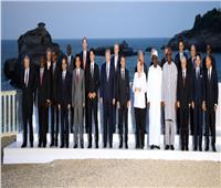 الرئيس السيسي يصل إلى مقر حفل عشاء المشاركين في قمة السبع الكبرى