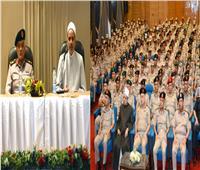 القوات المسلحة تنظم احتفالية دينية بمناسبة العام الهجري الجديد 1441