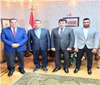 وزير الرياضة يحضر افتتاح أول مصنع كرة قدم في الشرق الأوسط