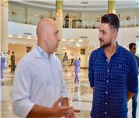 صور| علي غزلان يزور مستشفى شفاء الأورمان بالأقصر