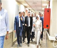 وزيرة الصحة تتفقد مستشفى الإسماعيلية العام وتوجه بتجهيز مركز تدريب