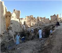صور  إنهاء 70 % من ترميم قرية «شالي» بواحة سيوة