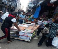 حملات لإعادة الانضباط وإزالة الأسواق المخالفة بأحياء الإسكندرية