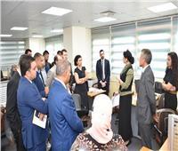 مركز المعلومات ودعم اتخاذ القرار يستقبل تنسيقية شباب الأحزاب والسياسيين