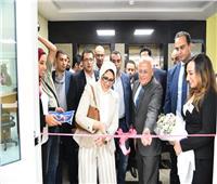 وزيرة الصحة تفتتح فرع الهيئة العامة للرعاية الصحية ببورسعيد