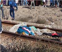 مصرع طالب صدمه قطار في قنا