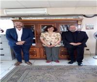 سفيرة مصر في بوروندي تلتقي برئيس «الصليب الأحمر»