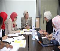وزيرة البيئة تناقش مع الوكالة الألمانية للتنمية التعاون مع جهاز تنظيم إدارة المخلفات