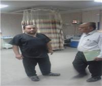 حملة تفتيش على المسشتفى المركزي بشبين القناطر والوحدات الصحية