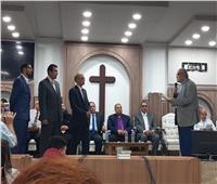 رئيس الطائفة الإنجيلية يرسم شيوخ وشمامسة جدد في كنيسة 6 أكتوبر