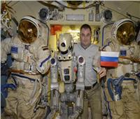 شاهد| الروبوت «فيدور» على محطة الفضاء الدولية
