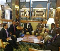 وزير الزراعة يبحث التعاون مع المملكة العربية السعودية والصومال