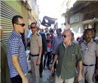تحرير 142 محضر إشغال طريق و90 مخالفة في المنيا