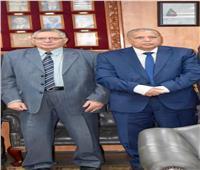 رئيس النيابة الإدارية يزور «قضايا الدولة» لتهنئة رئيسها الجديد