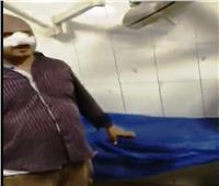 محافظ أسوان يكافئ أمين شرطة أصيب خلال مطاردة مع «توكتوك»