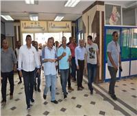 الغرابلي يتفقد أقسام العناية المركزة والقلب بمستشفى مطروح العام