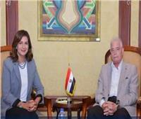 محافظ جنوب سيناء ووزيرة الهجرة يبحثان تنسيق ملتقى التسامح الديني